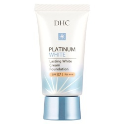 白金恆采粉底霜 SPF37 PA+++ Lasting white cream Foundation SPF37 PA+++