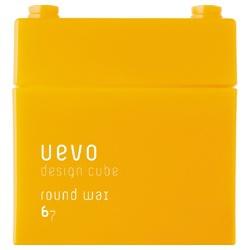 橘黃積木圓潤髮臘 Round wax
