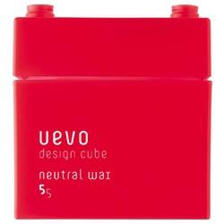紅積木中性髮蠟 Neutral wax