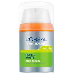 L`OREAL PARiS 巴黎萊雅 專業男仕系列-純淨控油戰痘平痕保濕乳液 PURE & MATTE ANTI-MARK Moisturizing Gel Cream
