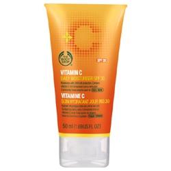 The Body Shop 美體小舖 防曬‧隔離-維他命C活膚隔離乳SPF30 Vitamin C Moisturiser SPF30