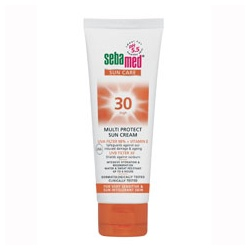 Seba med 施巴 防曬系列-防曬保溼霜 SPF30  Multi Protect Sun Cream SPF30