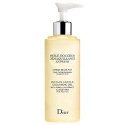Dior 迪奧 卸妝清潔調理系列-保濕潔顏油 Instant Gentle Cleansing Oil Face and Eyes