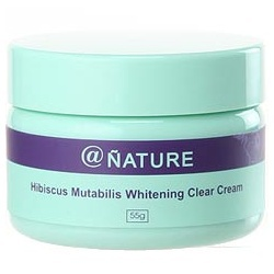 木芙蓉淨透‧萃白水凝霜 Hibiscus Mutabilis Whitening Clear Cream