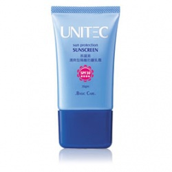 清爽型隔離防曬乳霜SPF30 ★★★★ UNITEC Sun Protection Sunscreen SPF30 ★★★★