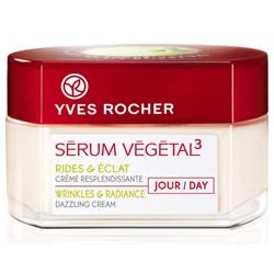 Yves Rocher 伊夫‧黎雪 乳霜-紅蘋凍齡亮采日霜 SERUM VEGETAL 3 Wrinkles & Radiance Dazzling Cream - Day