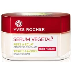 Yves Rocher 伊夫‧黎雪 乳霜-紅蘋凍齡亮采晚霜 SERUM VEGETAL 3 Wrinkles & Radiance Dazzling Cream - Night