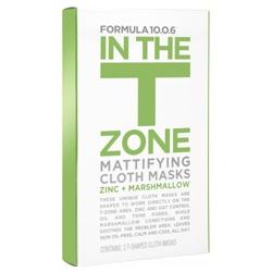 10.0.6淨透方程式 面膜系列-T字部位控油保濕面膜 In the T-Zone Mattifying Cloth Masks