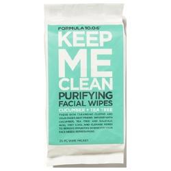 10.0.6淨透方程式 臉部卸妝-深層潔淨控油淨白卸妝棉 KEEP ME CLEAN CLARIFYING FACIAL WIPES