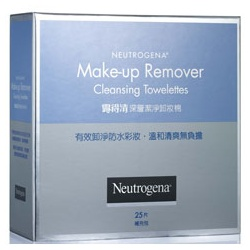 Neutrogena 露得清 臉部卸妝-深層潔淨卸妝棉