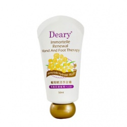 Deary 媞爾妮 蠟菊賦活系列-蠟菊賦活手足霜 Immortelle Renewal Hand and Foot Therapy