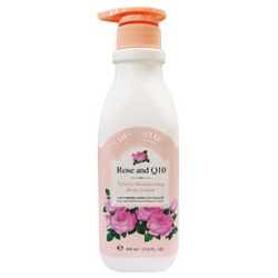 玫瑰Q10水潤柔沁身體乳 Rose and Q10 Velvely Moisturizing Body Lotion