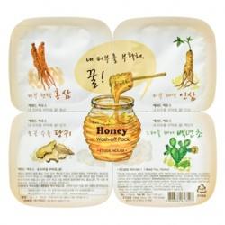 蔘氣盎然蜂蜜凍膜拼盤(水洗式) Honey Wash-off Pack