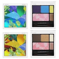 2011春夏彩妝『絢彩雨林』彩妝盤 Morphorium blue palette卅Sunset gold palette