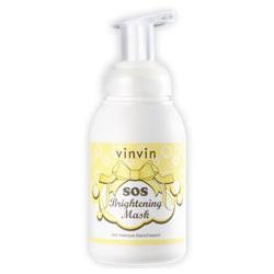 vinvin 魔法美肌學苑 清潔面膜-超光速美白急救泡泡面膜