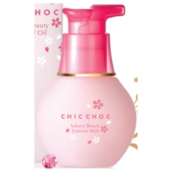 CHIC CHOC 奇可俏可 化妝水-櫻花水(凝乳型) sakura beauty essence milk