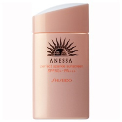 安耐曬 粉珠光防曬露AA SPF50+/PA+++ pefect sparkle sunscreen SPF50+/PA+++