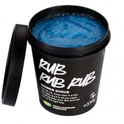 身體去角質產品-藍海水晶磨砂沐浴露