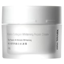 miss SHARK 小白鯊 海洋膠原靚白系列-海洋膠原靚白修護霜 Marine Collagen Whitening Repair Cream