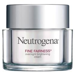 Neutrogena 露得清 細白系列-細白修護晚霜 Fine Fairness Overnight Brightening Cream