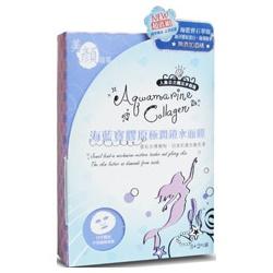 Beauty Story 美顏故事 保養面膜-海藍寶膠原極潤鎖水面膜 BeautyStory Aquamarine Collagen Moisturizing Mask