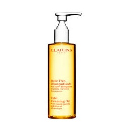 CLARINS 克蘭詩 清潔與去角質保養-有機橄欖潔顏油 Total Cleansing Oil with Organic Perilla & Olive Oil