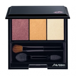 SHISEIDO 資生堂-專櫃 時尚色繪彩妝系列-時尚色繪尚質煽色眼影 Luminizing Satin Eye Color Trio