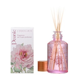 L`ERBOLARIO 蕾莉歐 室內‧衣物香氛-牡丹花擴香瓶 Peonies Fragrance Oil For Scented Sticks