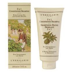 L`ERBOLARIO 蕾莉歐 美髮護髮系列-銀杏雙效修護洗髮精 2 in 1 Conditioner Shampoo