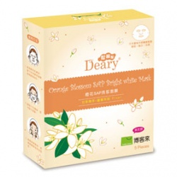 Deary 媞爾妮 面眼膜系列-橙花SAP亮皙面膜 Orange Blossom SAP Bright White Mask