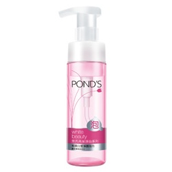 POND`S 旁氏 深層淨顏泡泡系列-粉潤白皙淨顏泡泡 White Beauty