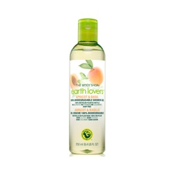 The Body Shop 美體小舖 沐浴清潔-2011環保羅勒沐浴膠 EARTH LOVERS APRICOT & BASIL 100% BIODEGRADABLE SG
