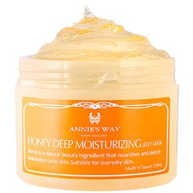 Annie`s Way 果凍面膜系列-蜂蜜深層保濕果凍面膜 Honey Deep Moisturizing Jelly Mask