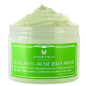 Annie`s Way 果凍面膜系列-蘆薈+海藻控油果凍面膜 Aloe Anti-Acne Mask