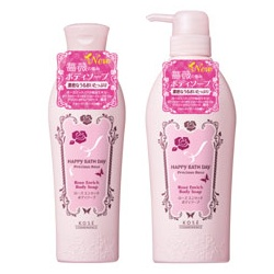 HAPPY BATHDAY precious rose 快樂沐浴天 沐浴清潔-漾甜心香沁沐浴乳 HAPPY BATH DAY Precious Rose Rose Enrich Body Soap