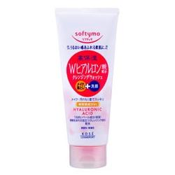 Softymo 絲芙蒂 卸妝+洗臉2in1系列-玻尿酸特淨卸粧洗顏霜 softymo SUPER CLEANSING WASH (H)