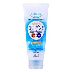Softymo 絲芙蒂 卸妝+洗臉2in1系列-膠原蛋白特淨卸粧洗顏霜 softymo SUPER CLEANSING WASH (C)