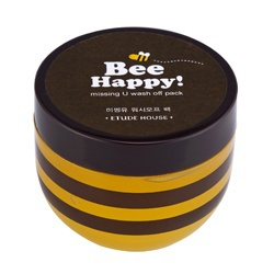 Bee Happy蜂蜜暖氣修護面膜(水洗式)