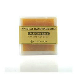 茉莉香米天然手工香皂 Jasmine rice soap
