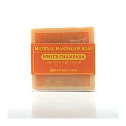 bath&bloom 手工皂系列-純淨玉蘭天然手工香皂 White champaka soap