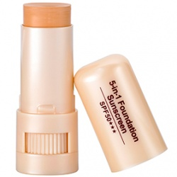 粉條產品-清透美白防曬粉條SPF50 5-in-1 Foundation Sunscreen SPF50
