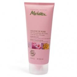 Melvita 蜜葳特 有機沐浴系列-歐盟Bio王者玫瑰沐浴凝乳