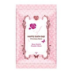 薔薇愛戀香氛爽膚巾(沁涼版) HAPPY BATH DAY Precious Rose Rose Enrich Powder Sheet