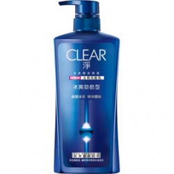 男仕洗潤髮品產品-冰爽勁酷型去屑洗髮乳