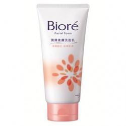 Biore 蜜妮 淨膚鎖水洗顏系列-潤澤柔膚洗面乳