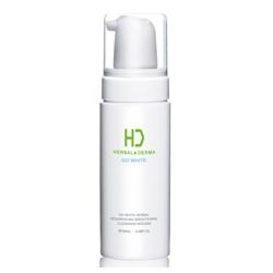 H&D Herbal Derma 萃膚美 洗顏-GO WHITE 白透亮溫柔植萃潔顏慕絲 GO WHITE HERBAL RESURFACING BRIGHTENING CLEANSING MOUSSE