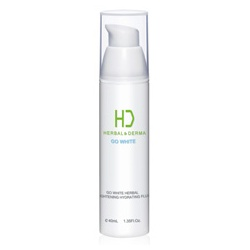 H&D Herbal Derma 萃膚美 乳液-GO WHITE 白透亮植萃保濕乳液 GO WHITE HERBAL BRIGHTENING HYDRATING FLUID