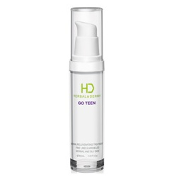 H&D Herbal Derma 萃膚美 精華‧原液-GO TEEN 美麗無線青春植萃精華液 GO TEEN HERBAL REJUVENATING TREATMENT