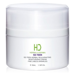 H&D Herbal Derma 萃膚美 GO TEEN植萃抗老系列-GO TEEN 美麗無線青春植萃滋潤霜 GO TEEN HERBAL REJUVENATING MOISTURIZING CREAM