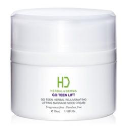 H&D Herbal Derma 萃膚美 其他身體局部-GO TEEN LIFT美麗無線植萃拉提按摩頸霜 HERBAL& DERMA GO TEEN HERBAL REJUVENATING LIFTING MASSAGE NECK CREAM